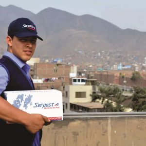 How do you send goods abroad from Peru?