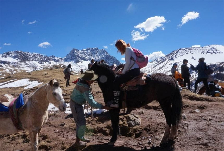 Organizing a horse-riding adventure in Cusco