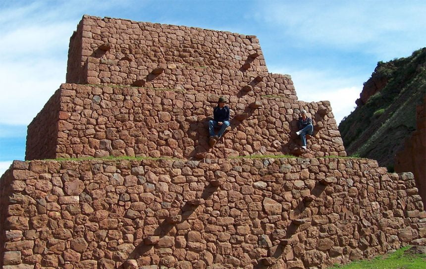 Pre-Incan Wari Culture:  the Pikillacta Ruins Near Cusco