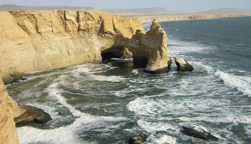 Biking Through Paracas National Reserve
