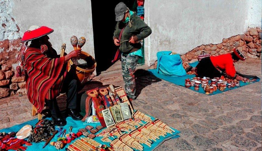 Tour in Chinchero in Peru