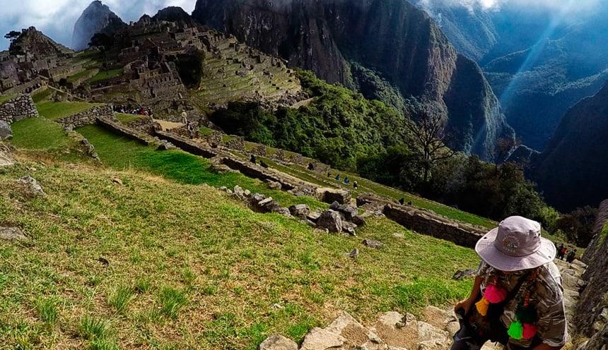 Machu Picchu Incas ruins in Peru