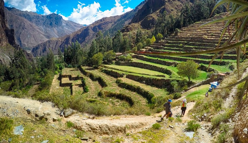 Patacancha Valley Peru trek