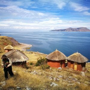 Unique Islands in Lake Titicaca