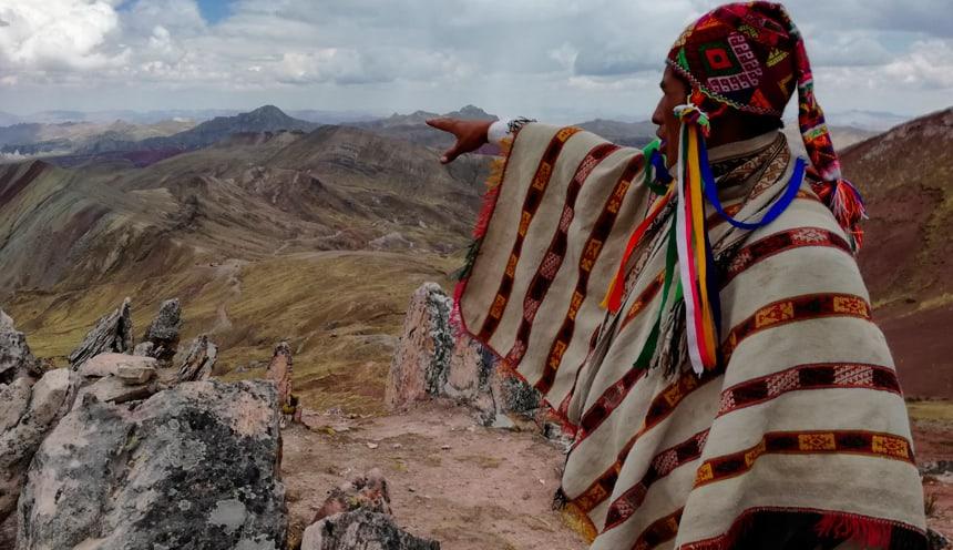 Three Rainbow Mountains Palcoyo & Queswachaka Bridge Tour
