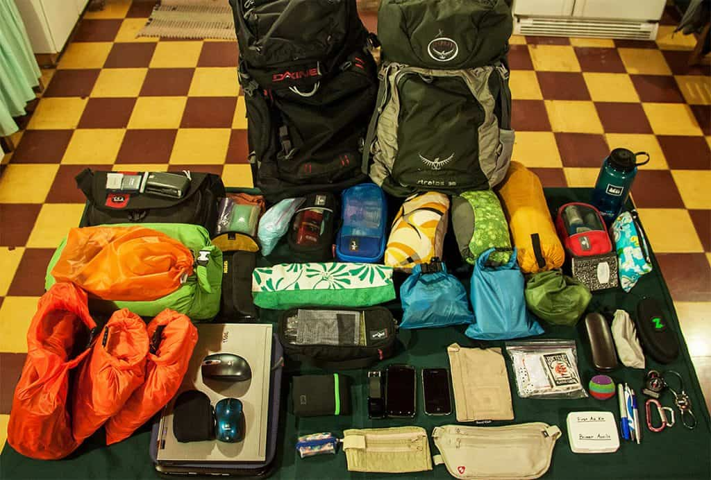 Peru Backpack Packing-List
