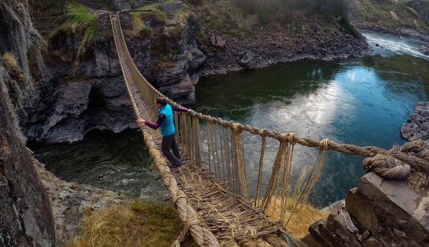 Q'eswachaka Inca Bridge