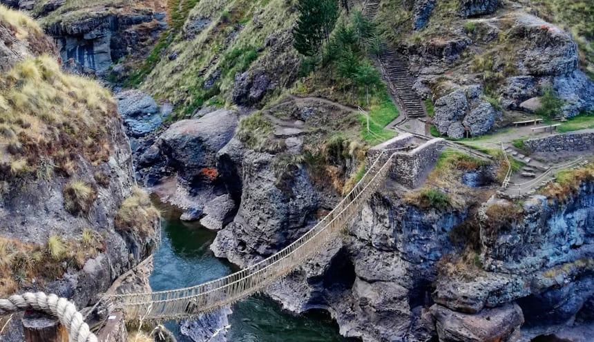 Queswachaka Bridge Peru