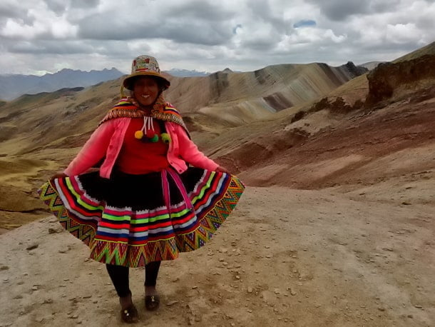 Die 3 Regenbogenberge Palcoyo Tour