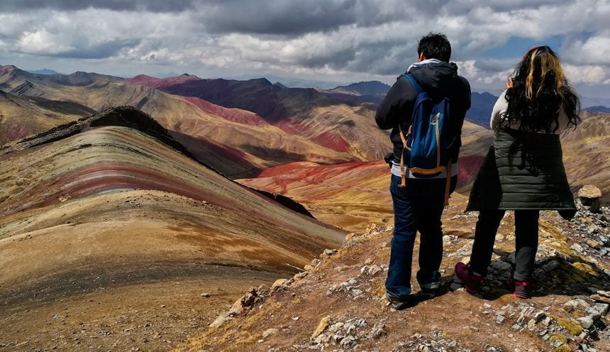 The Rainbow Mountains of Palcoyo: An adventure off the traditional tourist path.