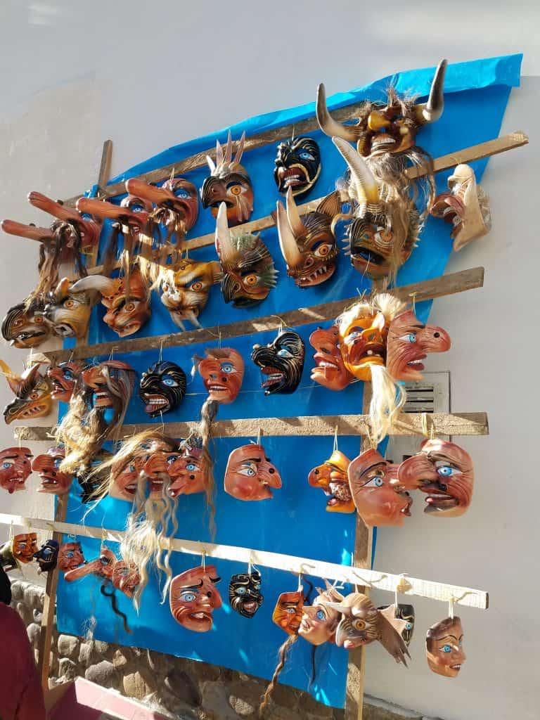 Paucartambo, st. carmen, festival, characters, costumes