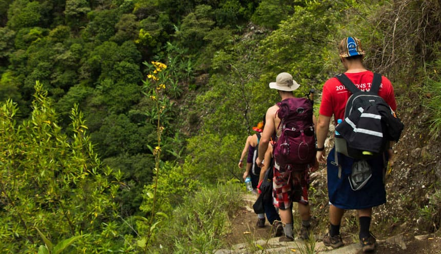 inca jungle trekking